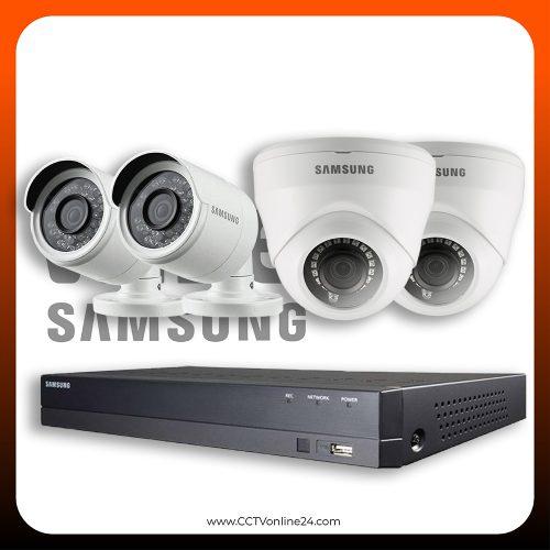 Paket CCTV Wisenet 2MP Lite Fixed 4CH