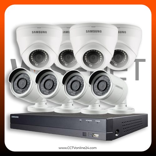 Paket CCTV Wisenet 2MP Lite Fixed 8CH