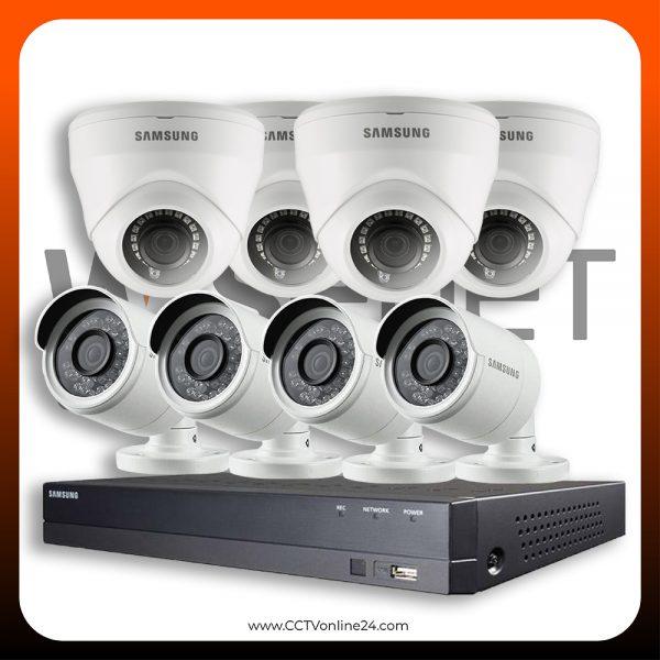 Paket CCTV Wisenet 2MP Lite Fixed 8CH
