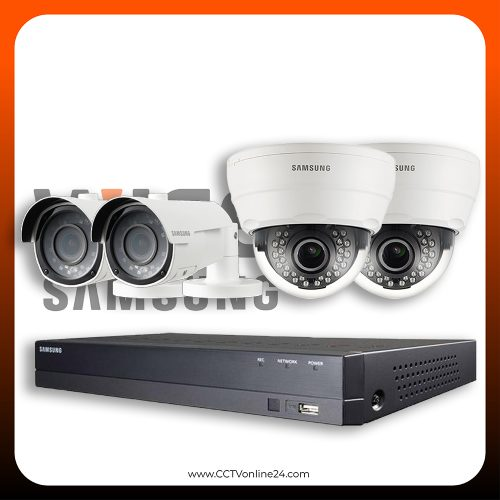 Paket CCTV Wisenet 2MP Lite Varifocal 4CH