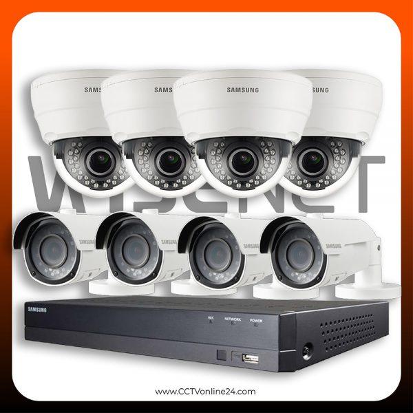 Paket CCTV Wisenet 2MP Lite Varifocal 8CH