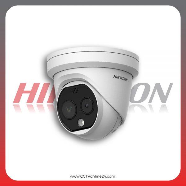 Kamera CCTV Thermal Pendeteksi Suhu Tubuh Hikvision DS-2TD1217B-3/PA