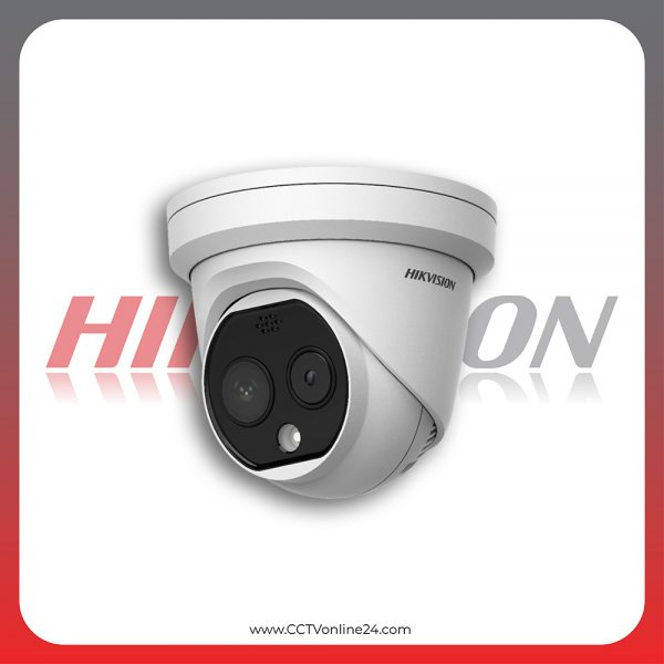 Kamera CCTV Thermal Pendeteksi Suhu Tubuh Hikvision DS-2TD1217B-6/PA