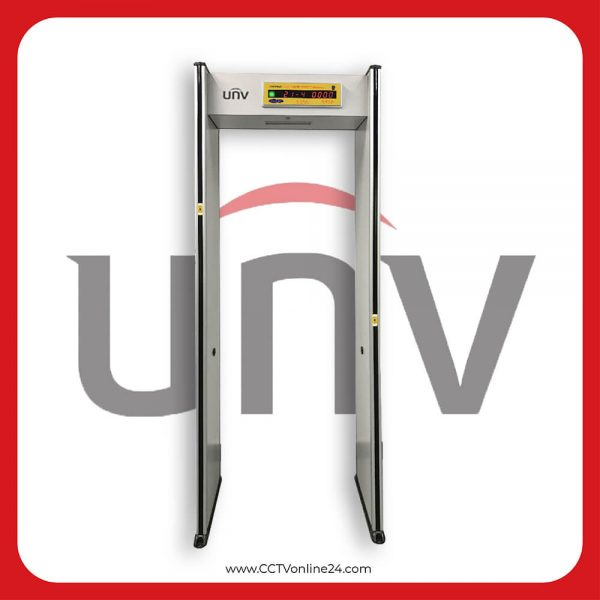 Uniview USS-SC100A-TM-O Temperature & Metal Measurement Security Gate