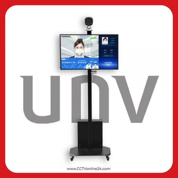 Kamera CCTV Thermal Pendeteksi Suhu Tubuh Uniview CW180