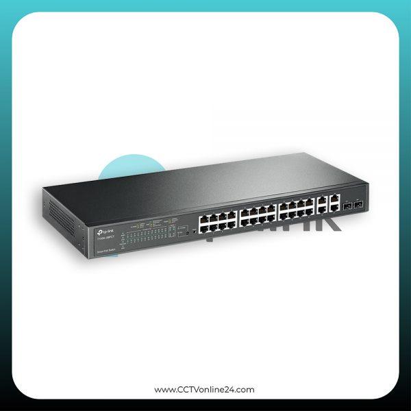 TP-Link T1500-28PCT (TL-SL2428P) 24 Port