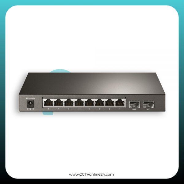 TP-Link T1500G-10PS (TL-SG2210P) 8 Port