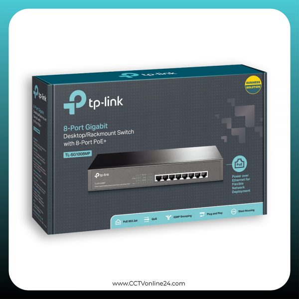 TP-Link TL-SG1008MP 8 Port