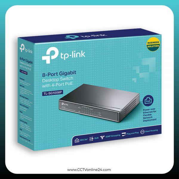 TP-Link TL-SG1008P 8 Port