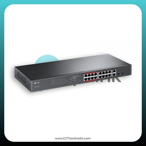 TP-Link TL-SL1218MP 16 Port