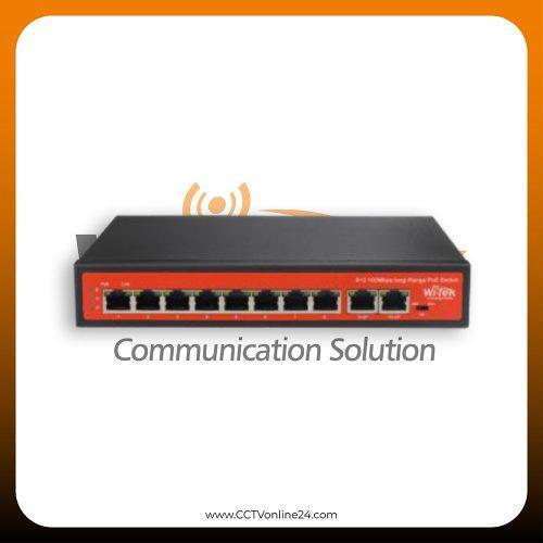 WiTek WI-PS210 8 Port