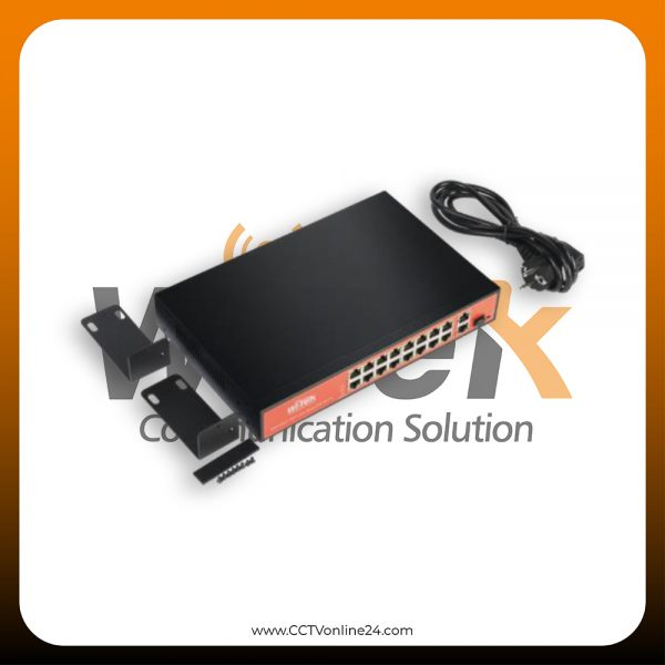 WiTek WI-PS518G 16 Port
