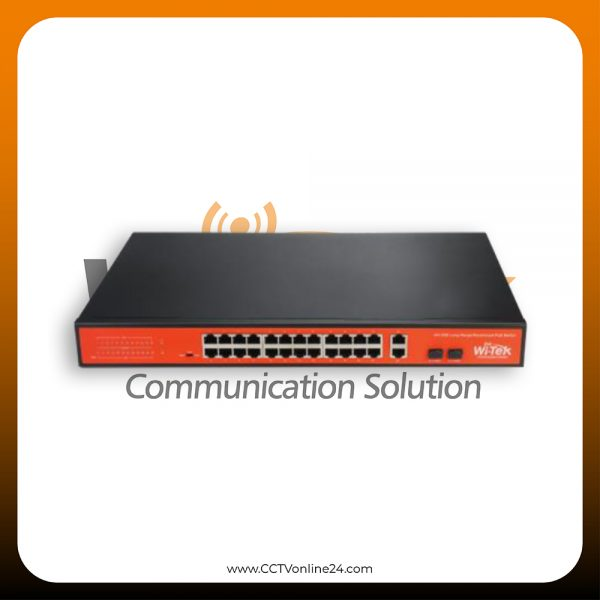 WiTek WI-PS526G 24 Port